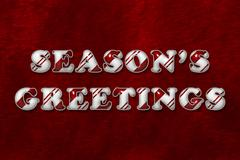 Season's Greetings - stock illustration