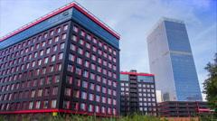 Tower timelapse 4k skyscraper architecture office Arkistovideo