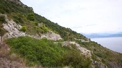 Amalfi coast - stock footage