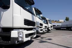 Trucking and logistics Kuvituskuvat