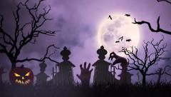 Halloween animation Stock Footage
