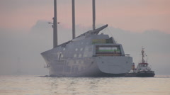 White Pearl Sunrise. Stock Footage