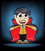 Vampire boy Piirros