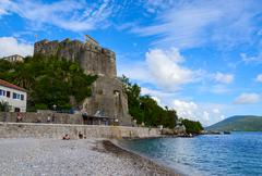 Sea Fortress (Forte Mare), Herceg Novi, Montenegro Stock Photos