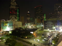 Downtown Dallas Stock Footage