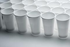 Disposable cups Stock Photos