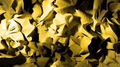 Abstract wood shavings paper cloth pulsating background backdrop 4K - stock footage