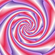 Abstract spiral background in  white, red and violet - stock illustration