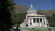 Stock Video Footage of Sancturary of Oropa, Biella, Piedmont, Italy