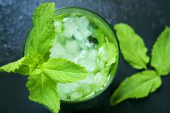 appetizing mojito - stock photo
