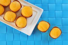 Yemas de santa teresa, typical confection of Spain Stock Photos