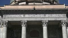 Sancturary of Oropa, Biella, Piedmont, Italy - stock footage