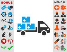 Medication Delivery Icon Stock Illustration