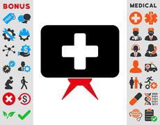 Health Care Presentation Icon Piirros