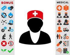 Medic Icon - stock illustration