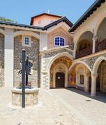 Famous Kykkos Monastery, Cyprus Stock Photos