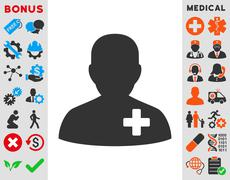 Medical Volunteer Icon - stock illustration