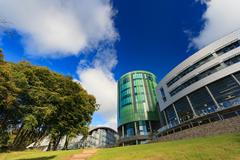 The Robert Gordon University (RGU) in Aberdeen - stock photo