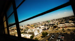 City Window Time-Lapse - stock footage
