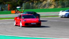 Ferrari F430 at Spa Stock Footage