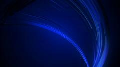 blue fiber lines - stock footage