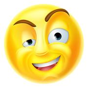 Charming Emoji Emoticon Stock Illustration