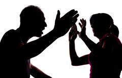 Domestic violence Stock Photos