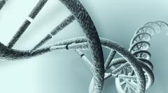 Long DNA strand Stock Illustration