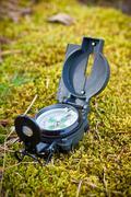 Compass, navigation instrument Stock Photos