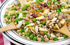 Stock Photo of Legumes Delicious and Healthy Natural  Mix Food