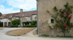 Stock Video Footage of Chateau d'Epoisses in the Burgundy, France , department Cote d'Or.