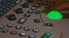 ultrasound machine - stock footage