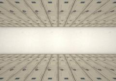 School Locker Corridor Stock Illustration