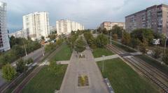 Aerial shots Ukraine Dnepropetrovsk Stock Footage