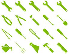 Equipment and Tools Icons Piirros