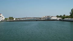 Tavira in the south of Portugal  Stock Footage