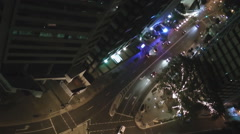 High Altitude Street Time-lapse of Brisbane - stock footage