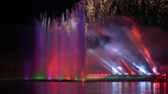 Moscow International Festival Circle of Light Stock Footage