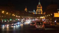Kutuzov Avenue Stock Footage