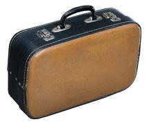 Old baggage case Stock Photos