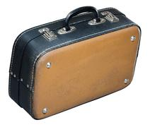 Old baggage case - stock photo