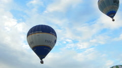 BRISTOL, UK - AUGUST 7 2015: Bristol International Balloon Fiesta - stock footage