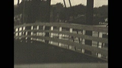 Vintage 16mm film, 1941, driving around St.Paul, lots of ads Stock Footage