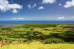 Atlantic Ocean Valley - stock photo