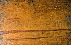 Old lacquer plywood texture - stock photo