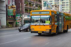 Public transport in Bangkok - stock photo