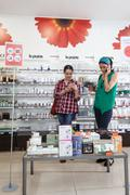 Cosmetics store - stock photo