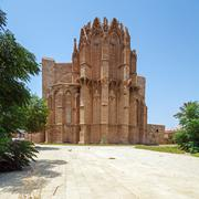 Famagusta gothic Cathedral, North Cyprus - stock photo