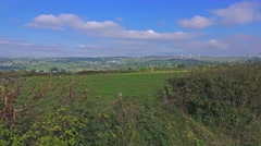 Peak District National Park, Staffordshire, England - General View Stock Footage