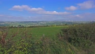 Stock Video Footage of Peak District National Park, Staffordshire, England - General View